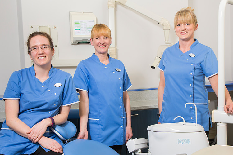 Carlisle dental and therapists at Spedding dental clinic